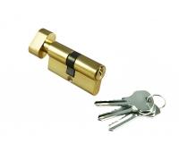 Ключевой цилиндр 60CK PG (золото)