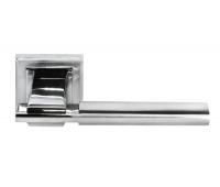 Дверная ручка DIY MH-13 SN/CP-S (белый никель/полированный хром)