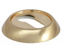 Накладка на цилиндр MH-KH SG/GP (матовое золото/золото)