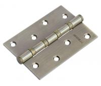 Петля стальная универсальная с 4-мя подшипниками MS 100X70X2.5-4BB AB (бронза)