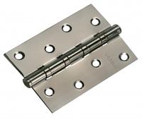 Петля стальная универсальная с 4-мя подшипниками MS 100X70X2.5-4BB BN (черный никель)