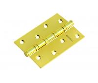 Петля стальная универсальная с 4-мя подшипниками MS 100X70X2.5-4BB PG (золото)