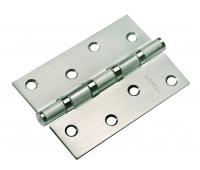 Петля стальная универсальная с 4-мя подшипниками MS 100X70X2.5-4BB SN (никель)