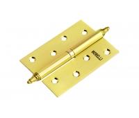 Петля стальная универсальная с короной MS 100X70X2.5-U SG (матовое золото)