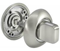 Завертка сантехническая  MH-WC SN/CP (белый никель/хром)