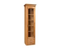 Шкаф-витрина «Элбург» БМ-1384-1 (правая, стеклянные полки)