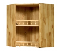 Шкаф настенный «Викинг GL» №11 угловой