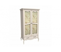Шкаф для одежды «ЛеБо» (2-х дверный со стеклянными дверями)